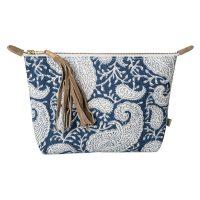 bag big paisley navy-chamois
