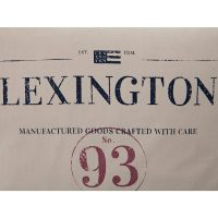 Classic graphic sham, beige – Lexington