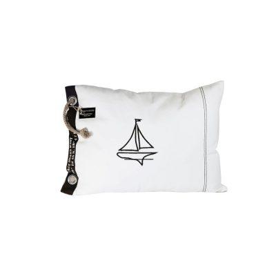 701007 Pillow Sailboat wh