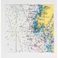 Servett sjökort – Kajutan