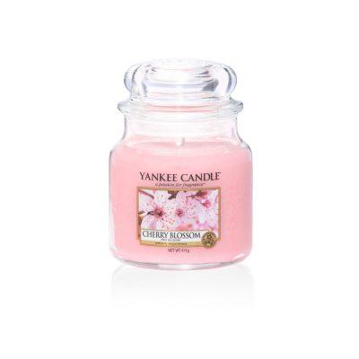 cherry blossom m jar Yankee Candle