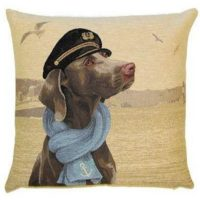 CAPTAIN WEIMARANER-lighthouse