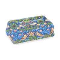 William Morris strawberry thief blue Bricka – Desina