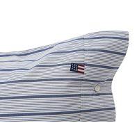 Blue striped poplin pillowcase, 50*60 – Lexington