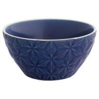 Frukostskål Kallia, dark blue – Greengate