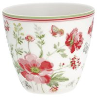 Lattemugg Meadow white – Greengate