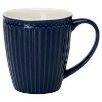 mugg alice dark blue – Greengate