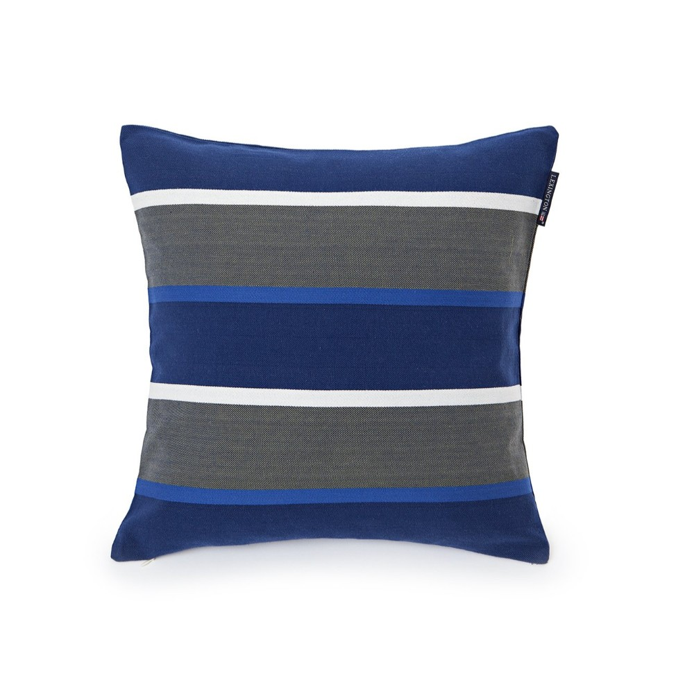 striped sham blue multi-lexington