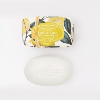 soap ambiente lemon and sage-castelbel