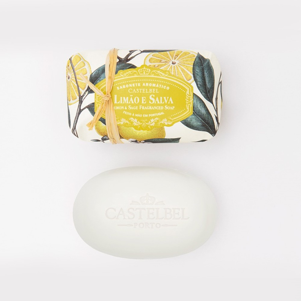soap ambiente lemon and sage-castelbel