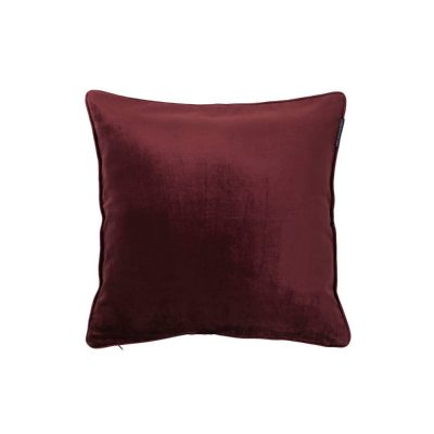 velvet sham red-lexington