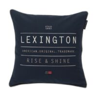 Sham Rise & Shine, blue 50×50 – Lexington