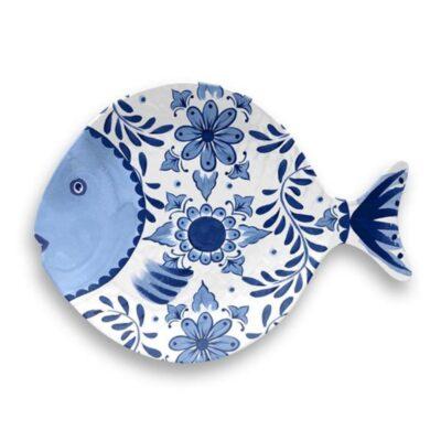 santorini fisktallrik