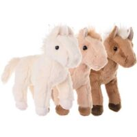 Baby Salt Häst 20 cm  Beige
