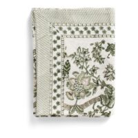 Chamois-Floral Duk 150×230 cm Linen Olive