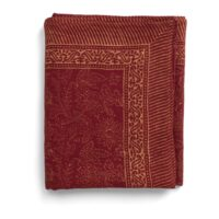 Chamois-Indian Summer Duk 150×230 cm Linen Red Gold