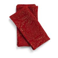 Chamois – Indian Summer Servett 2-p Linen Red