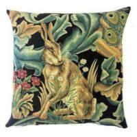 William Morris-Black Forest Hare kudde 45*45 cm