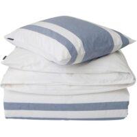 Lexington – Blue Horizontal Striped Poplin Bed Set