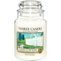 Yankee Candles-Clean Cotton Medium Jar