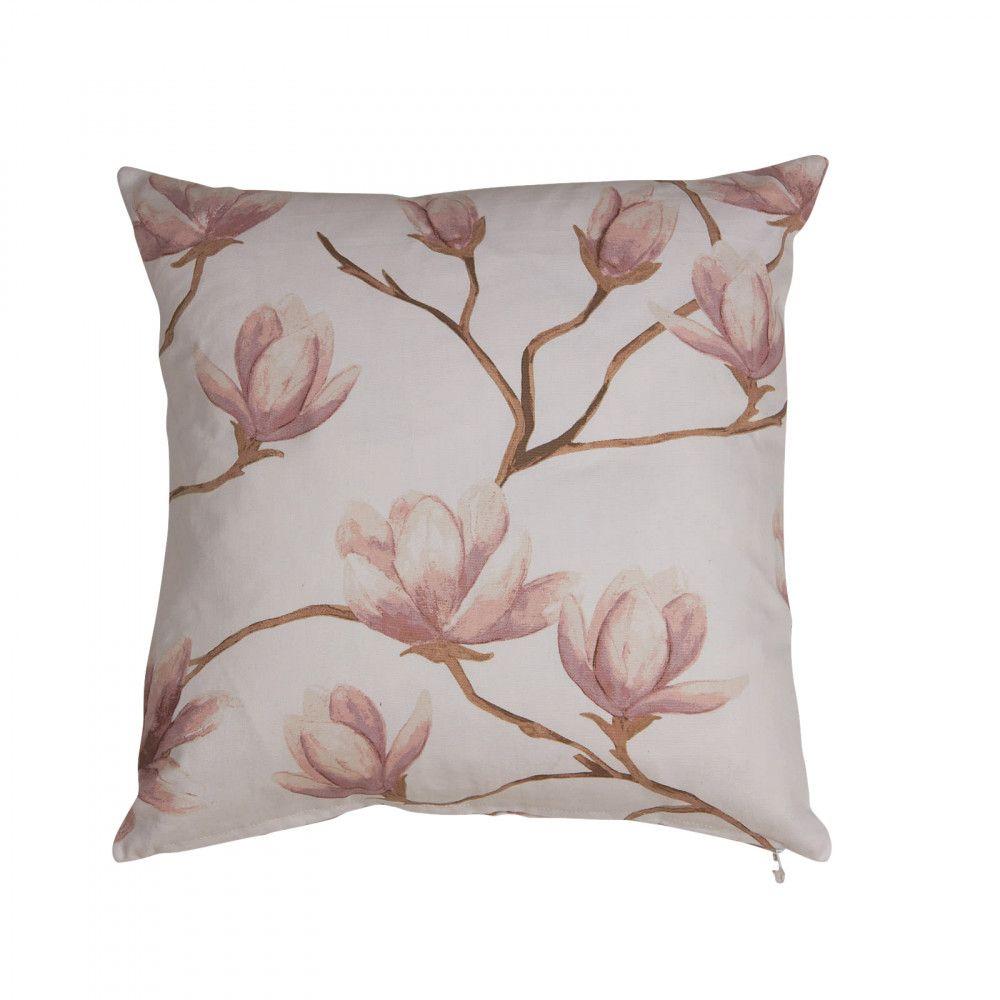 magnilia kuddfodral rosa