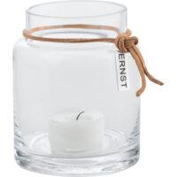 ERNST – Ljuslykta I Glas 6,5 cm