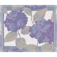 Blå Hortensia Diskduk 30*25 cm
