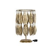 A Lot Decoration – Bordslampa Löv Antikmässing