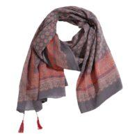 The Moshi-Parero/scarf Brianna 180*100 cm Red/grey