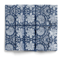 Chamois – Paradise Servett 50×50 cm 2-p Navy Blue