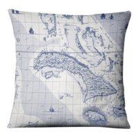 Bahamas Kudde 50×50 cm