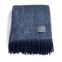 Mohairpläd Marin & Cashmere Blue 130*170 cm