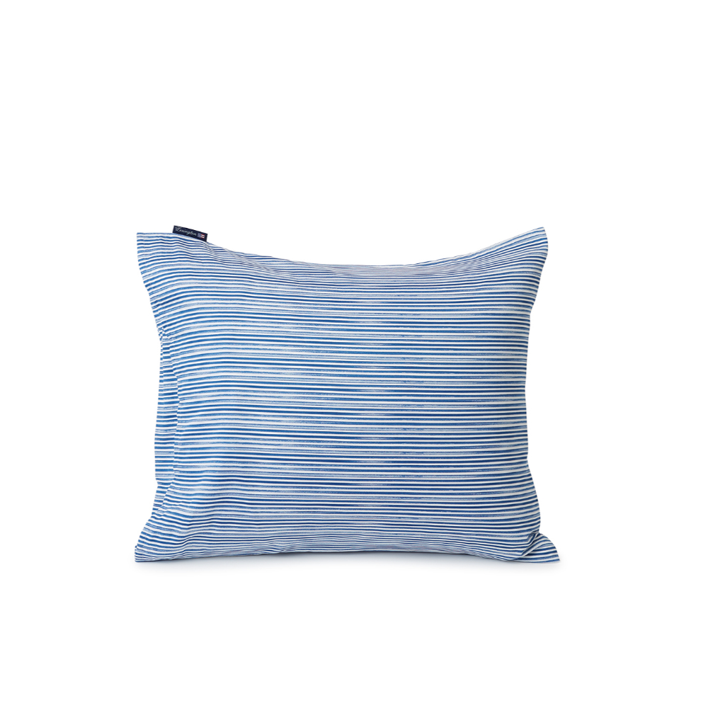 Lexington – Striped Organic Cotton Sateen Pillowcase 50×60 cm