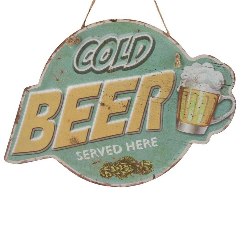 39-222cold beer skylt