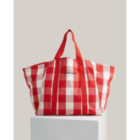 Lexington – Beachway Organic Cotton Bag Red/White Check