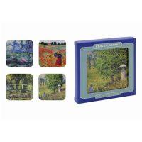 Claude Monet-Coasters 4-p