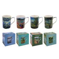 Claude Monet-Mugg sorterade motiv