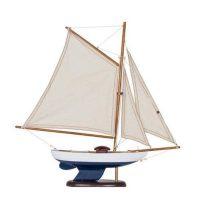 Lighthouse – Sailing Ship 43*38 cm White