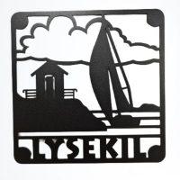 Special made for us! – Lysekil-Stångehuvud Underlägg 20*20 cm