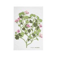 Almedahls – Pelargonia Kökshandduk 47*70 cm Rosa
