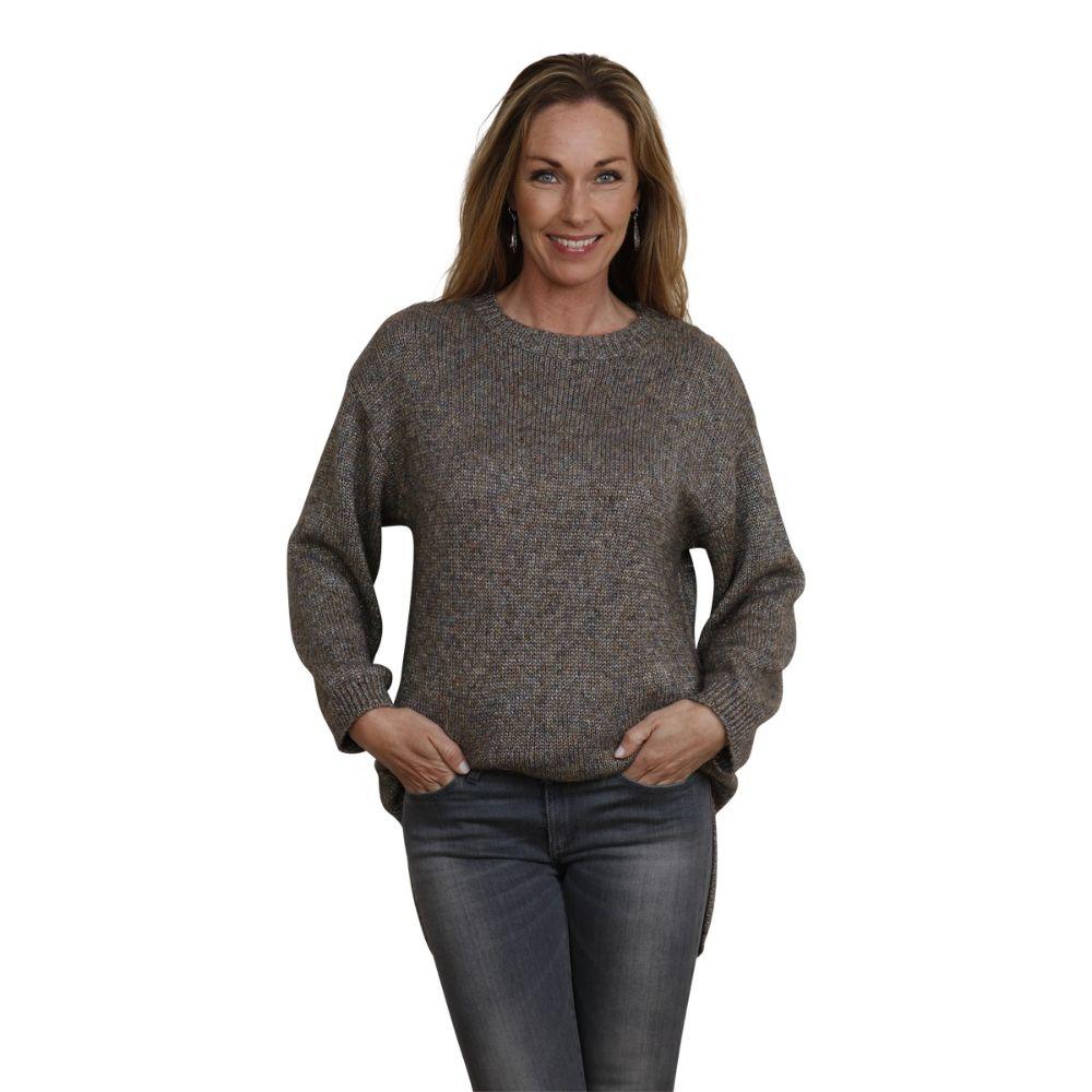 pullover jeanette grå