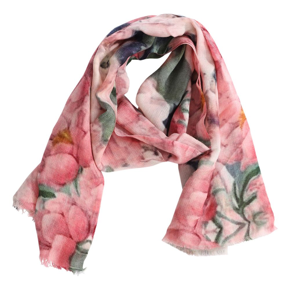 scarf camille rosa