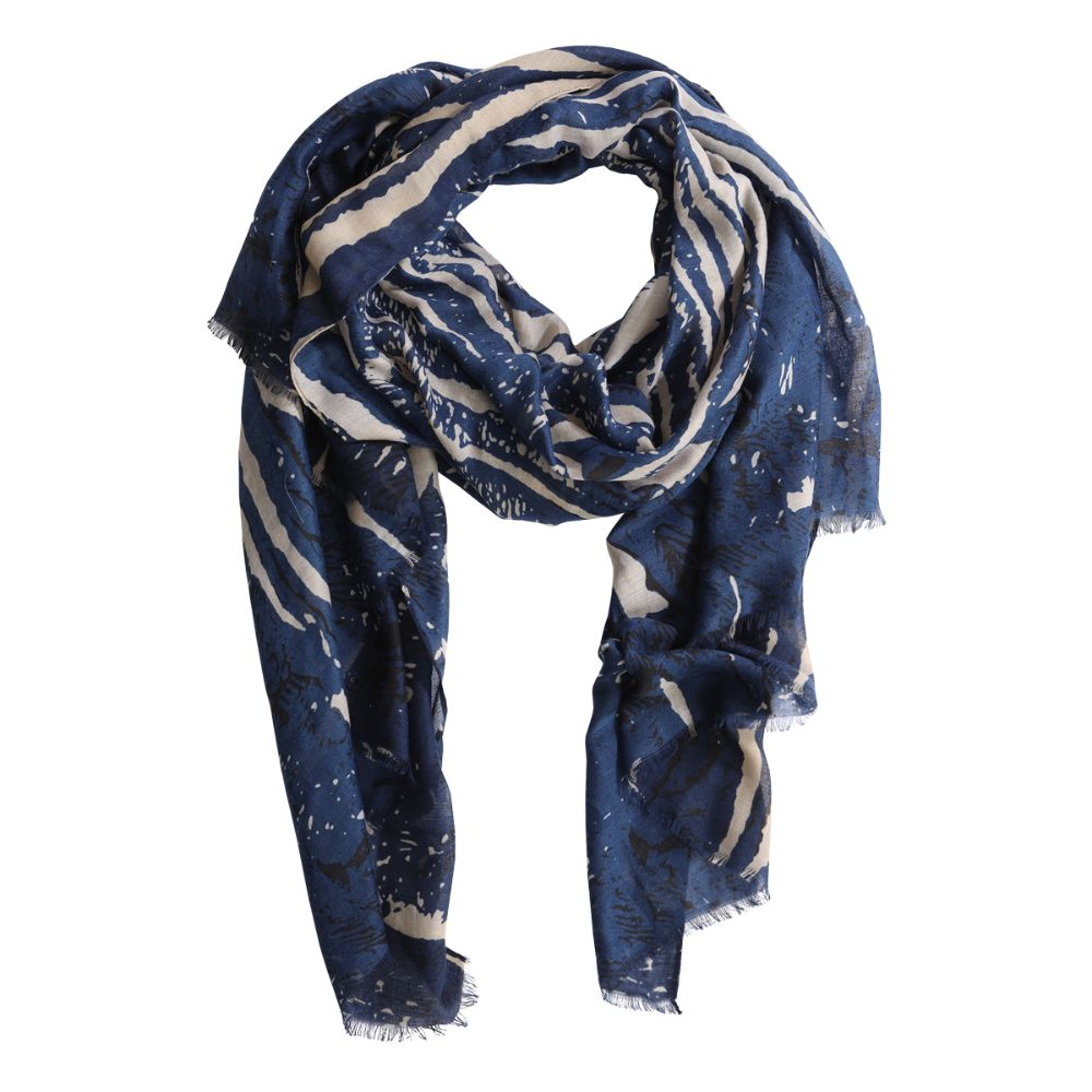 scarf hera blue