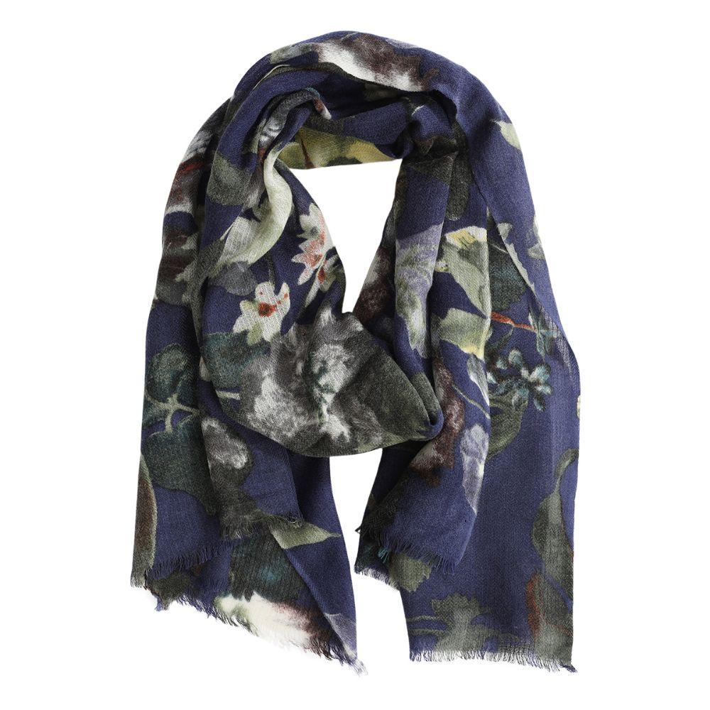 scarf maria DARK BLUE