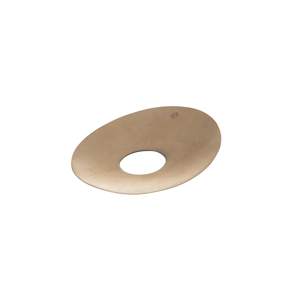 ERNST – Ljusmanschett Oval Mässing
